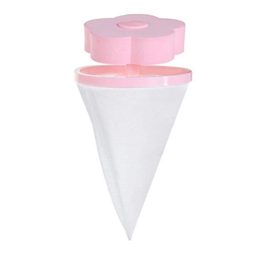 Cabilock 1PC Wasmachine Filter Tas Herbruikbare Haar Catcher Mesh Pouch Bloem Vorm Schoonmaak Gereedschappen (Random Kleur)