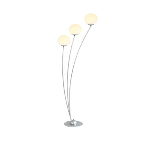 EIU vloerlamp Moderne minimalistische smeedijzeren boog verticale lamp geleiden, ruimte slaapkamer studie van de oogbescherming leven leeslamp M20-02-15