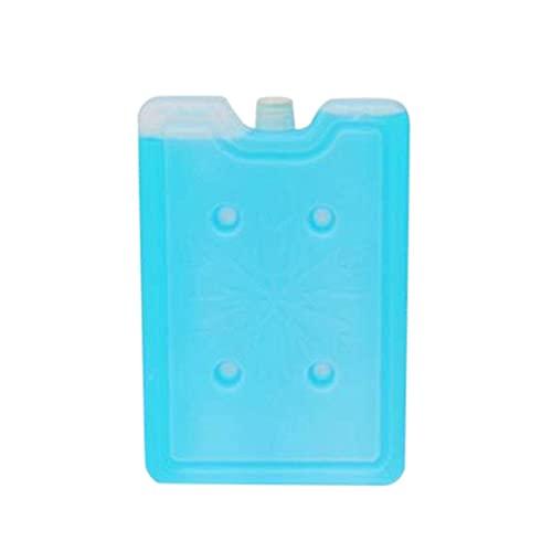 hwljxn Paquete de hielo cuadrado, 1 unids Temporal Almacenamiento de frío Material saludable Caja de hielo Reutilizable Reutilizable Paquete de hielo cuadrado de lectura duradera de larga duración Paq