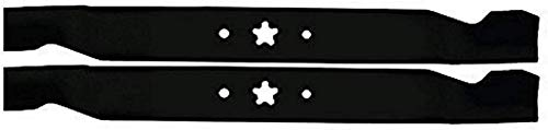 "Mr Mower Parts 2-Blade Set for 42"" Cut Poulan/Husqvarna/Craftsman Replaces 138498, 138971, 138971X431, 532138971, 532127843, 532138498"