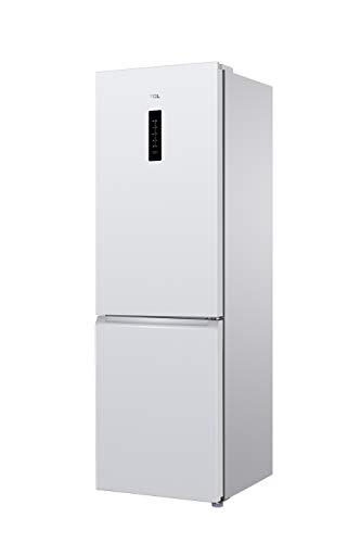 TCL RB315WM1110 Kühlschrank/A+ / Höhe 185 cm / 306 L/Total No-Frost/Kombi-Kühlschrank & Gefrierschrank/Digitale Anzeige [Energieklasse A+], white