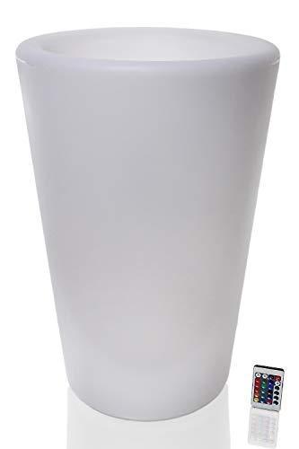 Arnusa Oasis Lights Blumentopf PL125 60 cm cm Kübel Topf Vase beleuchtet LED