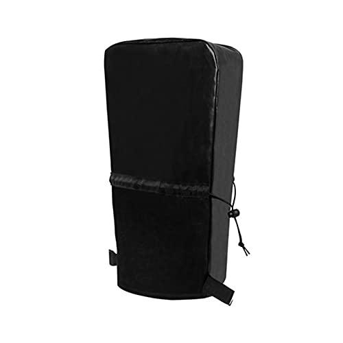 FDKJOK Accesorios PU Cuero protector eléctrico Lengua Jack Cubierta para RV Impermeable(Negro)