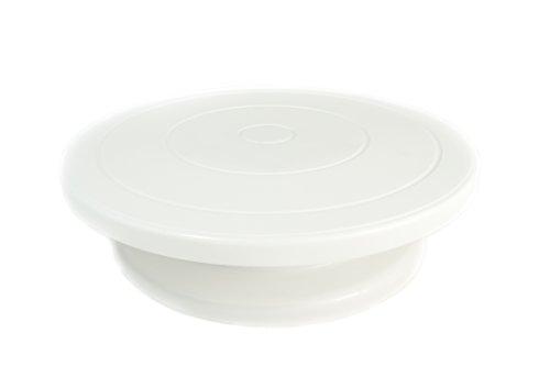Städter Tortenplatte, Kunststoff ABS, Weiß, Ø 27, 5/7 cm