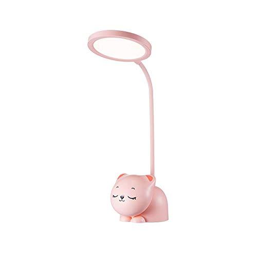 Lámparas de mesa y mesilla de noche Lámpara De Escritorio LED Lámpara De Mesa Con Cuidado De Ojos Con Soporte De Pluma 3 Niveles De Brillo 3 Modos De Color Oficina De Estudio Lámparas de escritorio