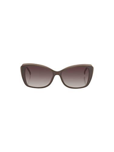 TOM TAILOR Damen Eyewear Sonnenbrille mit getönten Gläsern brown-kristall-perl rose,OneSize