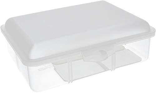 Buchsteiner Klickbox Vario-hoch mit Inneneinteilung (Natur-transparent)