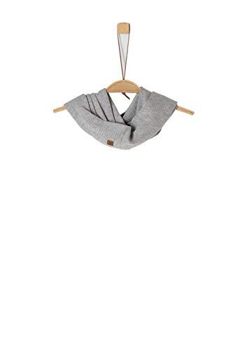 s.Oliver Mädchen 73.909.91.2836 Schal, Grau (Light Grey Melange 9400), One Size (Herstellergröße: 1)