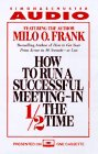 How to Run a Successful Meeting - In 1/2 the Time