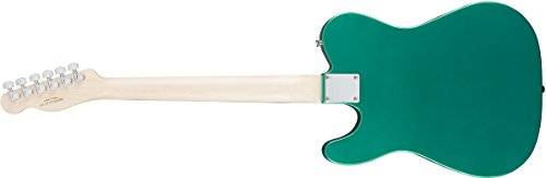 SquierbyFenderエレキギターAffinitySeries™Telecaster®,LaurelFingerboard,RaceGreen