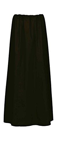 Maharanis Maharanis Fairtrade Sari Unterrock Einheitsgröße schwarz