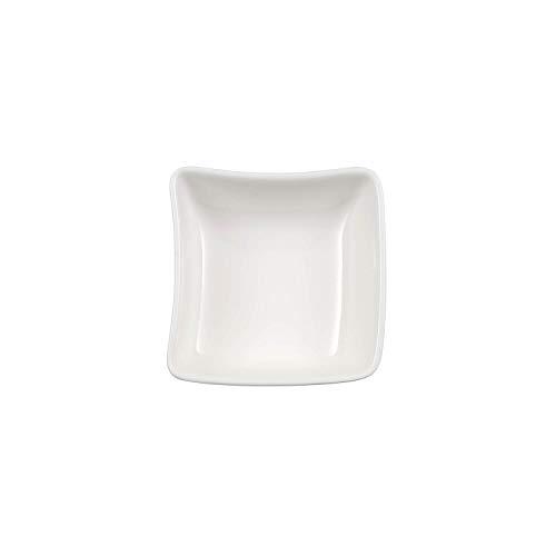 Villeroy & Boch NewWave Coupelle pour sauce, Porcelaine Premium, Blanc
