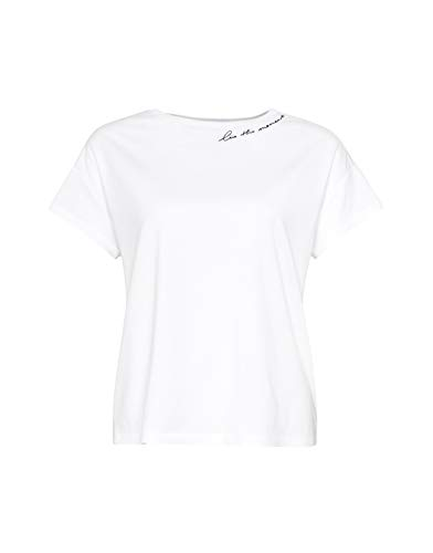 OPUS Damen Sticky Moment T-Shirt, White, 36