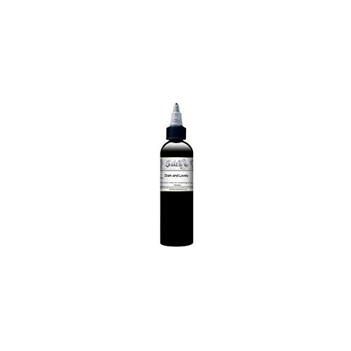 Mark Mahoney Tattoo Ink, Gangster Grey Collection Professional Tattooing Inks, Black Tattoo Ink, Dark and Lovely, 1 Ounce
