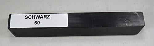BORMA Hartwachs 1 Stange á 20 g -verschiedene Farben zur Auswahl- (60 Schwarz)