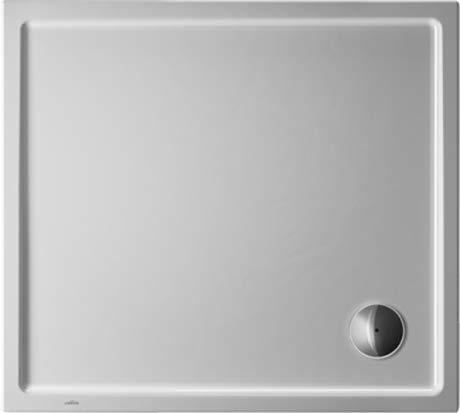 Duravit Duschwanne Starck Slimline 1000x900x 50mm, Rechteck, weiss, 720120000000000