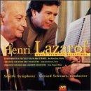 Henri Lazarof - World Premiere Recordings: Divertimento III for Solo Violin & Strings / Fantasia for Horn & Orchestra / Concerto for Oboe & Chamber Orchestra