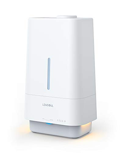 Lensoul Top Fill Humidifiers for Bedroom 4.5L Whisper Quiet Essential