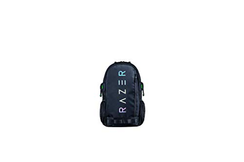 Razer Rogue v3 13.3' Gaming Laptop Backpack: Tear and Water Resistant Exterior - Mesh Side Pocket for Water Bottles - Dedicated Laptop Compartment - Made to Fit 13 inch Laptops - Chromatic Edition