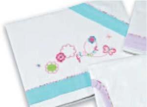 Bright Brands Sportsgoods Trip.Maxi Fran.Alg.9346-Flower 13 Draps pour enfant