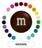 M&M's Brown Milk Chocolate Candy 5LB Bag (Bulk)