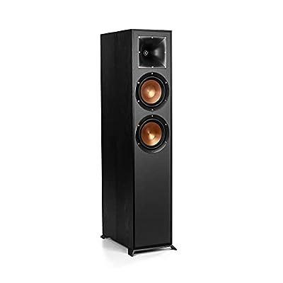 Klipsch R-620F Floorstanding Speakers - Black (pair) by Klipsch