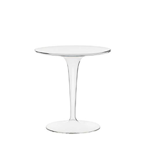 Kartell Tip Top, Table, Blanc Brillant