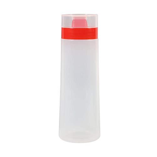 Saucenflasche, Spritzflaschen, umweltfreundlich, einfach zu bedienen, von hoher Qualität, Marmeladenspender, Restaurant zum Grillen zu Hause(red)