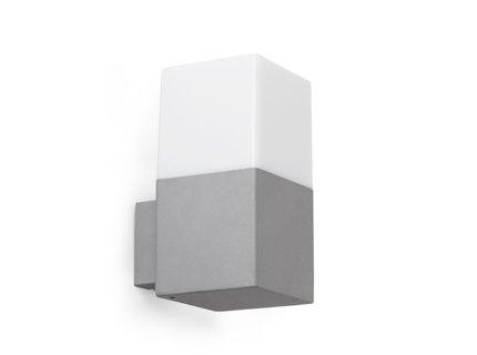 Faro iluminación–Tarraco applique Grigio 1x E2713W