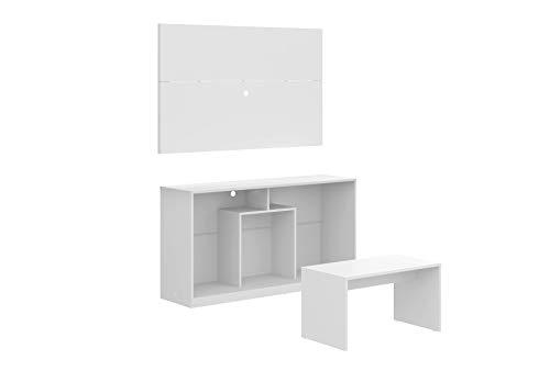 MULTIMOVEIS Combo Rack para Pantalla, Panel y Mesa de Cen