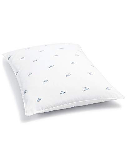 RALPH LAUREN Lauren Bedding, Medium Support Logo Jumbo Pillow 20 x 28