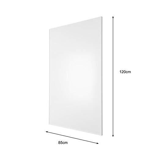 PE Plus + Smart Plug + plafondmontage. PE1000Plus 85x120cm