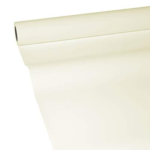 JUNOPAX 50m x 0,75m Papiertischdecke Champagner-beige
