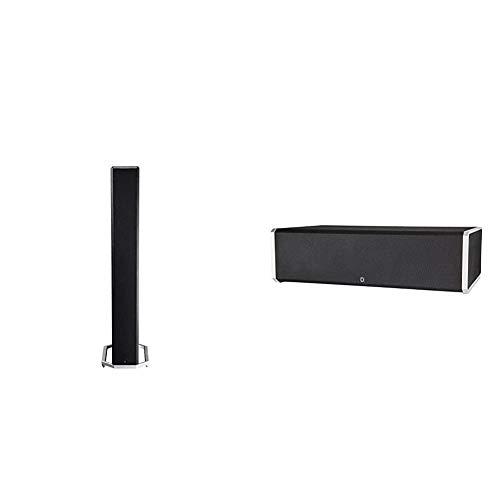 Definitive Technology BP-9020 Tower Speaker & Technology CS-9060 Center Channel Speaker | Built-in...