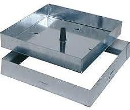 P Bisagras laterales para azulejos Tapa de Registro Panel de acceso Puerta de Inspecci/ón Tapa de Escotilla Trampilla de suelo 600 mm x 1200 mm
