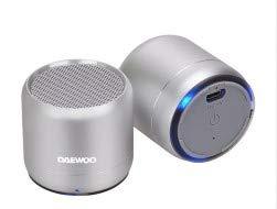 Altavoz Bluetooth DBT-212 Silver Duo