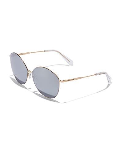 HAWKERS Bessie Gafas, Dorado (Gold/Chrome), One Size Unisex Adulto