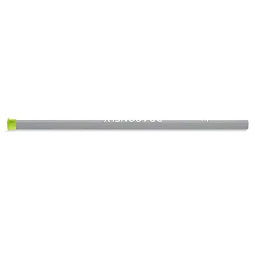 Epoch Dragonfly iD Lacrosse Shaft for Attack/Midfield, 30', Mid-Flex iQ5, Slip Grip Topcoat, C30, Grey