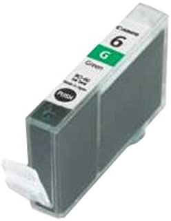 Canon BCI6G (BCI-6) Ink Cartridge, Green - in Retail Packaging