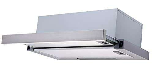 Dunstabzugshaube PKM KHU-60EB2X ausziehbar Einbau 60cm Flachschirmhaube