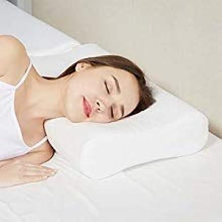 Ozoy Adjustable Memory Foam Pillow, Contour Cervical Orthopedic Memory Foam Pillow, Memory Pillows for Sleeping, Memory Pillow for Neck, Memory Pillow Cover