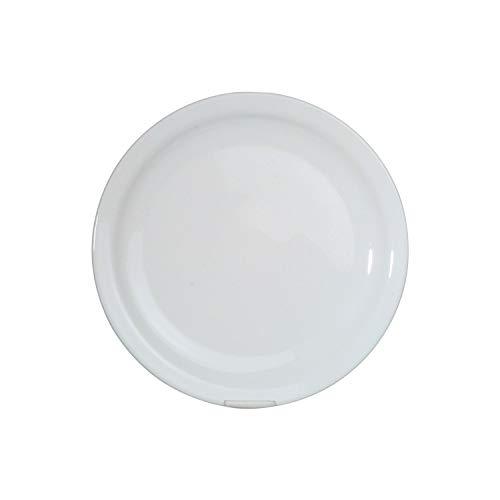Arcoroc ARC 57975 Hôteliére Teller flach, 23.5cm, Glas, weiß, 6 Stück