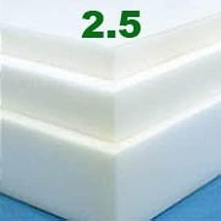 Twin 2 Inch Soft Sleeper 2.5 Visco Elastic Memory Foam Mattress Topper USA Made