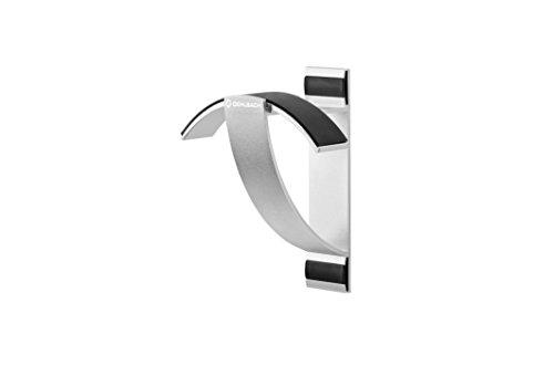Oehlbach Alu Style W1 - Wandhalterung für Kopfhörer - eloxiertes Aluminium - Schnelle Wandmontage & Optimale Aufbewahrung - Silber
