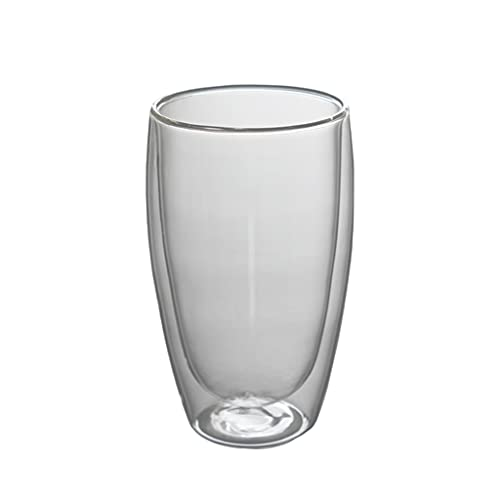 MagiDeal Vasos aislantes de doble pared vasos de café tazas de té tazas de café resistentes al calor para la barra de cocina