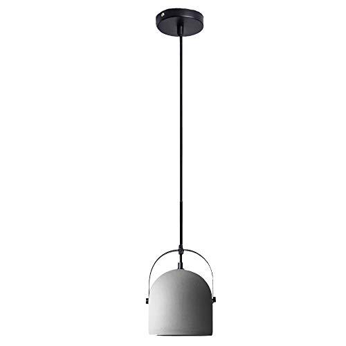 ♪ Cement kroonluchter, retro, plafondlamp, loft-lamp, smeedijzer, led, creatief, persoonlijkheid, graniet, transparant, verlichting, binnenverlichting, restaurant, slaapkamer, woonkamer, bedlampje, cementcol.