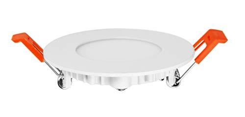 Lot de 3 Spot Encastrable LED Downlight Panel Extra-Plat 3W Blanc Neutre 4200-4
