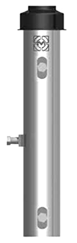 Palo de antena 40 sp 2,0 alto 2,0 m Nr 3 pernos M8