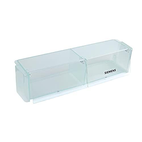 Bosch Siemens 433889 00433889 ORIGINAL Absteller Abstellfach Türfach Seitenfach Flaschenfach Flaschenhalter Flaschenabsteller Kühlschrank Kühlschranktür auch für Küppersbusch Aufdruck:
