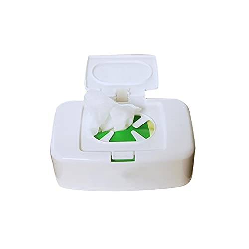 DAGONGREN Caja de toallitas húmedas toallitas dispensador de toallitas de la servilleta Caja de Almacenamiento de Soporte del contenedor for el Coche Ministerio del Interior